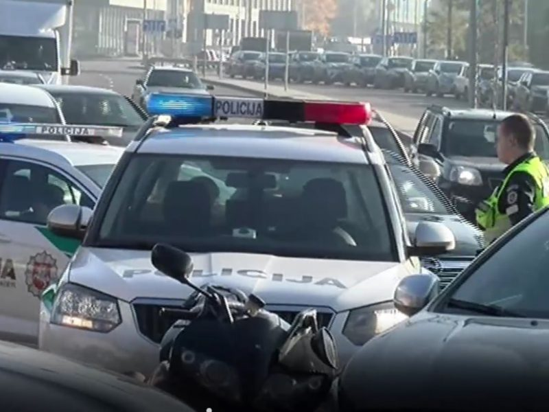 Per parą – trys motociklų avarijos