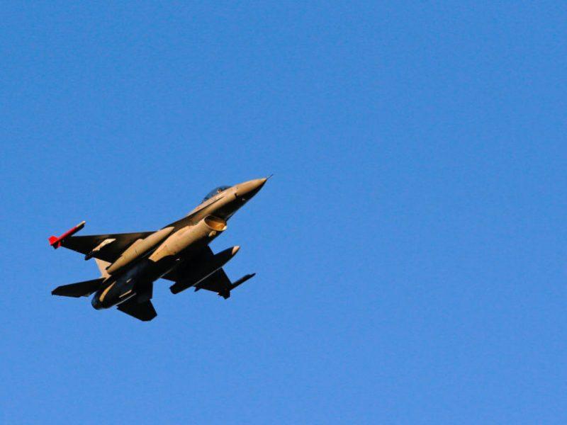 Belgijoje ant žemės susprogo naikintuvas F-16