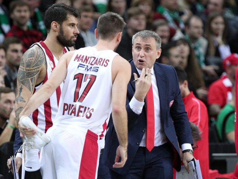 """""""Olympiakos"""" krepšininkai sudorojo """"Chimki"""" ekipą"""