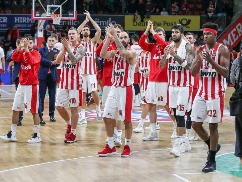 """""""Olympiakos"""" krepšininkai nugalėjo """"Bayern"""" ekipą"""