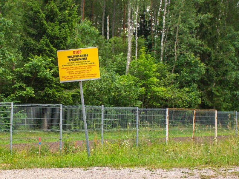EŽTT besiskundę afganistaniečiai sulaikyti Lietuvoje