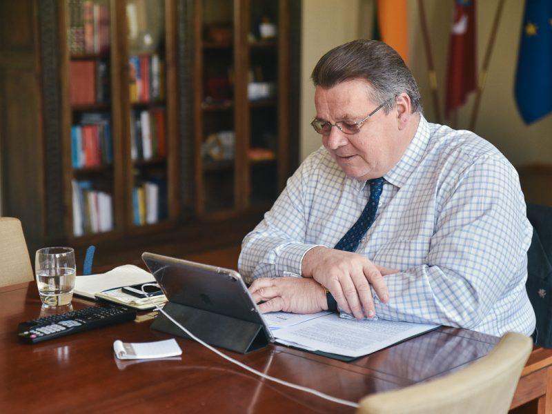 Lietuvos ir Vokietijos ministrai aptarė artėjantį Rytų partnerystės susitikimą