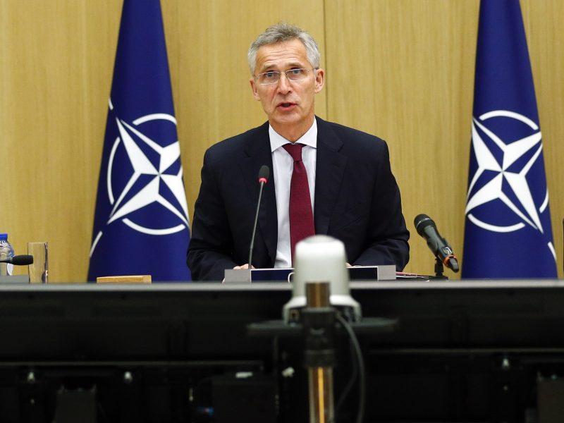 """NATO Vokietijoje statys """"kosminį centrą"""""""