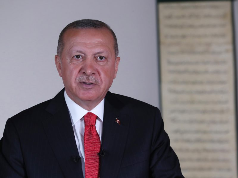 """R. T. Erdoganas pristato Turkijos """"veiksmų planą"""" dėl žmogaus teisių"""
