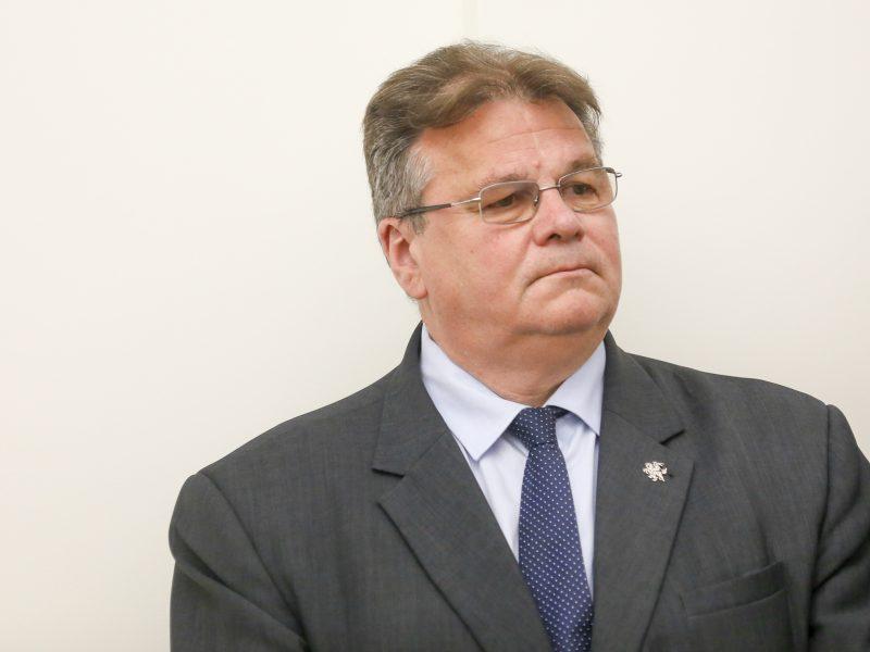 L. Linkevičius: negalime pamiršti istorijos ar leisti iškraipyti praeities faktus