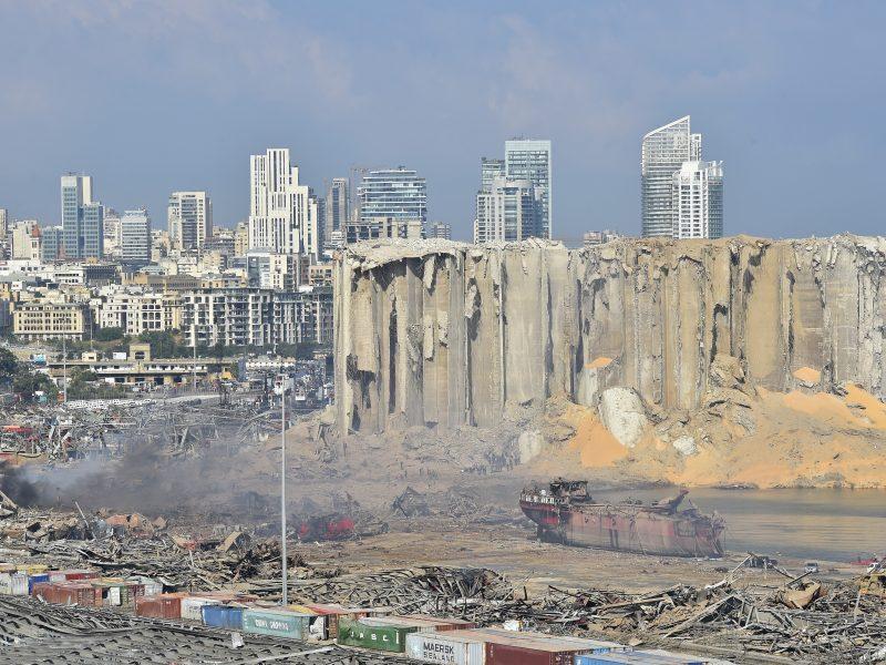 Žuvusiųjų skaičius Beirute išaugo iki 135, sužeistųjų – 5 000