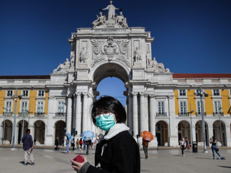 Portugalijoje pirmą kartą nustatyta per 3 tūkst. užsikrėtimo koronavirusu atvejų