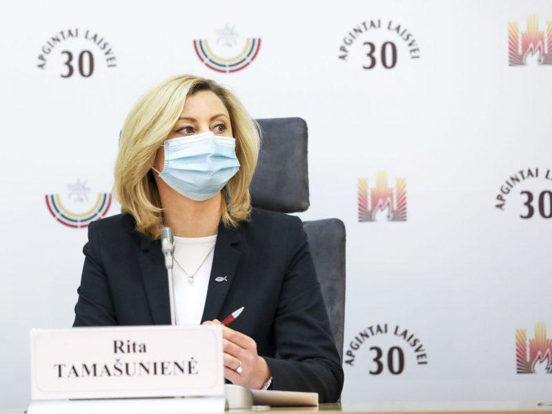 R. Tamašunienės siūlymas dėl VRK sudėties nesulaukė Seimo pritarimo