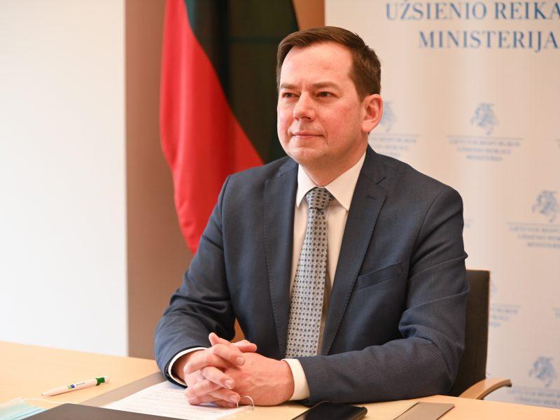 A. Pranckevičius: tikimės, kad ES vakcinų dalijimosi mechanizmas pradės veikti artimiausiu metu