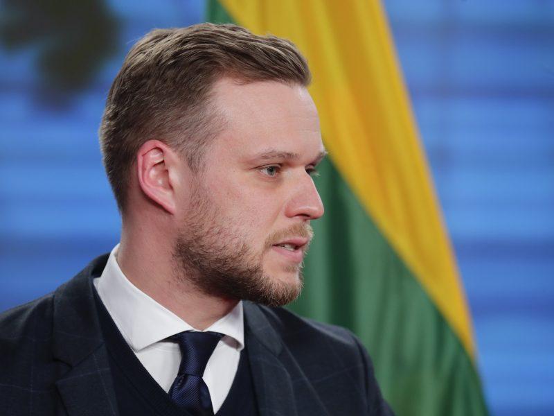 """G. Landsbergis reiškia solidarumą su """"Rusijos šnipus"""" išsiuntusia Čekija"""