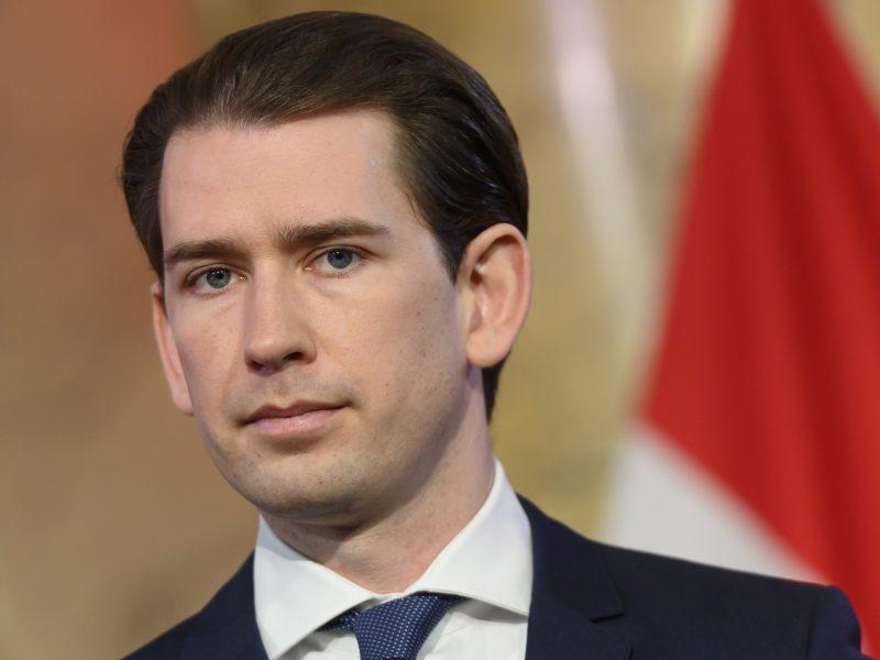 Kancleris: Austrija nuo gegužės 19 d. švelnins dėl koronaviruso įvestus apribojimus