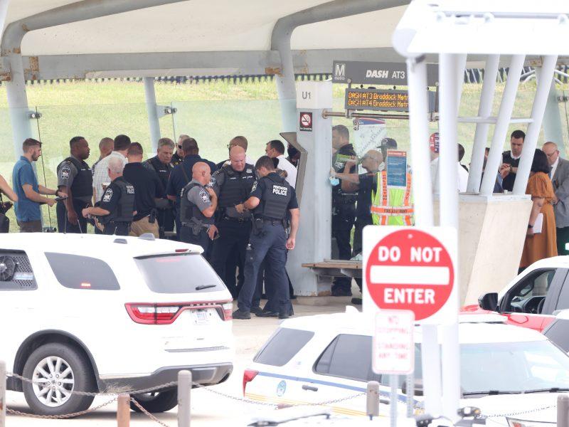 Per šaudymą netoli Pentagono sužeisti keli žmonės