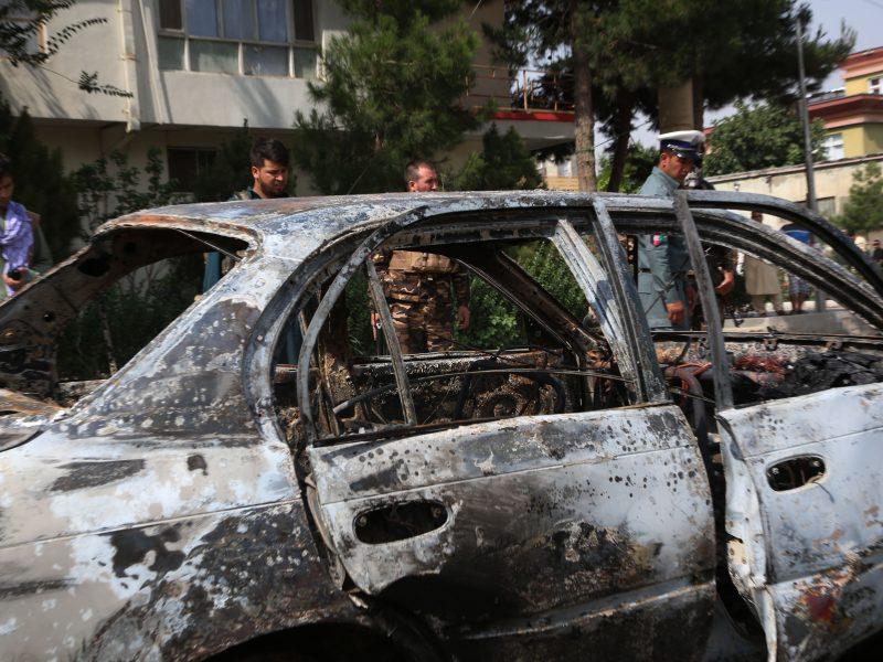Afganistano sostinėje driokstelėjo du galingi sprogimai
