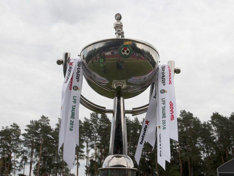 LFF taurės finalas vyks Utenoje