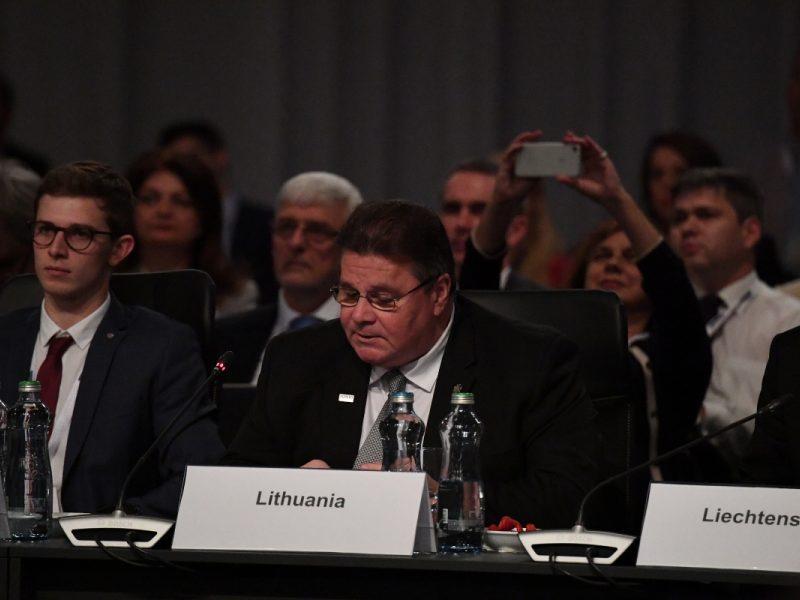 L. Linkevičius susitiko  su Sakartvelo ir Šiaurės Makedonijos ministrais
