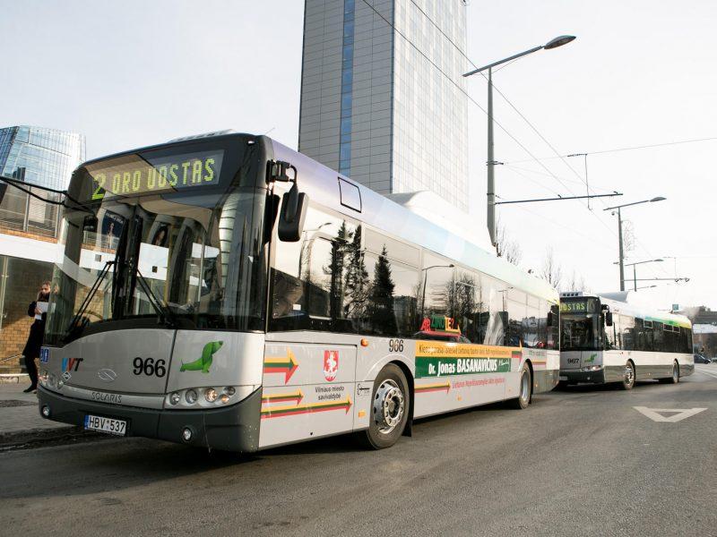 Vilniaus viešojo transporto bilietų sistemai – 3,5 mln. eurų ES paramos