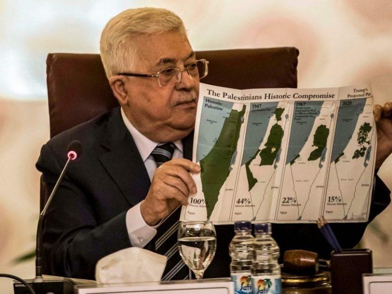 M. Abbasas: palestiniečiai nutraukia visus ryšius su Izraeliu ir JAV