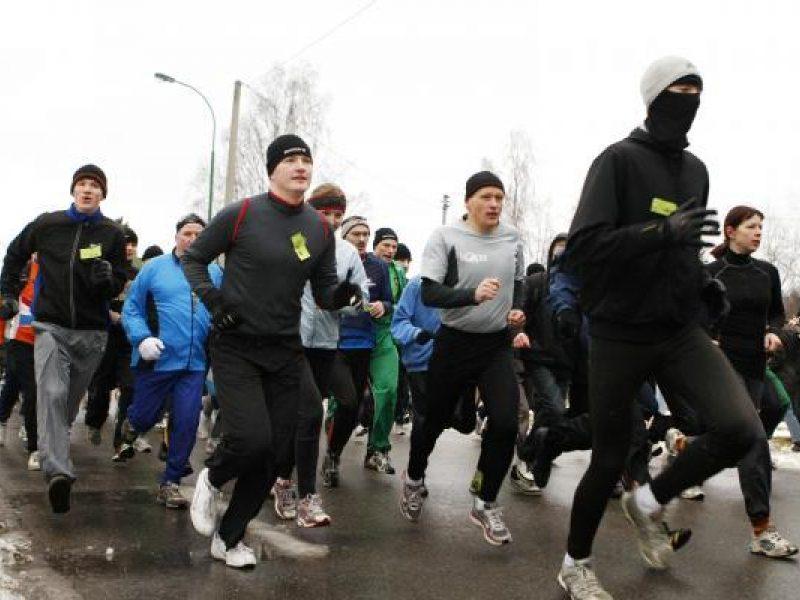 """Vilniuje rengiamas tradicinis bėgimas """"Gyvybės ir mirties keliu"""""""