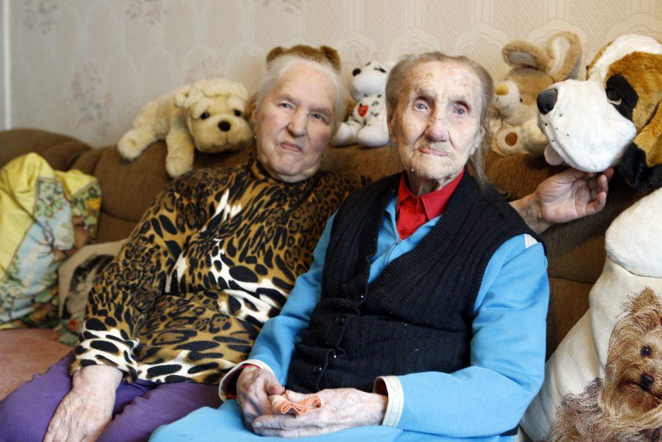 110 metų sukaktį minėsianti klaipėdietė: ilgą amžių lėmė gyvenimas be pykčio