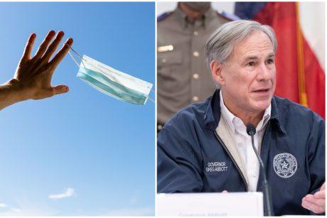 Teksaso gubernatorius atšaukė reikalavimą dėvėti kaukes, leido atsidaryti įmonėms