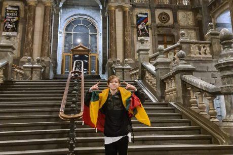 Talentinga breiko šokėja į Lietuvą parveža du medalius