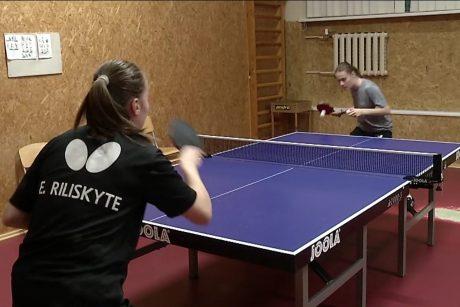 Seserys Riliškytės – augančios stalo teniso žvaigždės: siekia patekti į olimpiadą