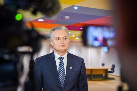 G. Nausėda: Europos Sąjungos narės neturi vystytis dviem greičiais