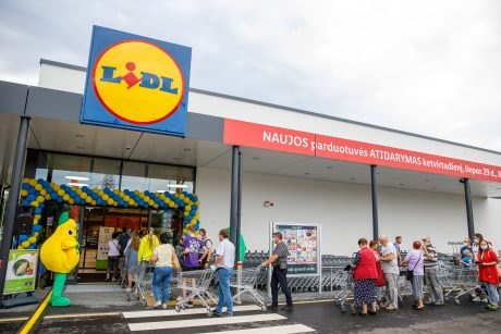 """Per savaitę – net dvejos """"Lidl"""" įkurtuvės Kaune"""