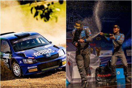 Lietuvos automobilių ralio čempionato pabaigtuvėms surengs naktines lenktynes