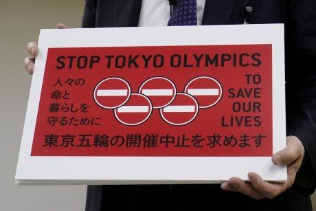 Tokijuje pateikta peticija dėl olimpiados atšaukimo