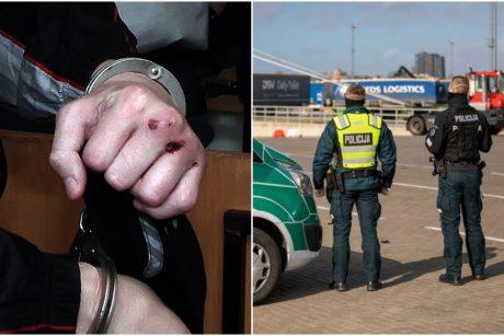 Girtų ir agresyvių asmenų nuotykiai Klaipėdoje: nuostoliai – niekuo dėtiems žmonėms