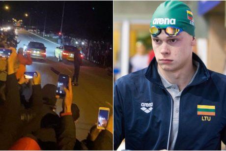 Nemalonumai D. Rapšiui: įkliuvo nelegaliose lenktynėse, neteko teisės vairuoti