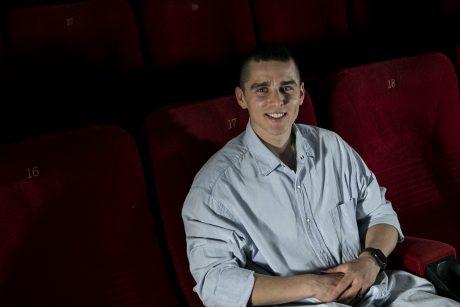 Koncerto Klaipėdoje laukiantis D. Montvydas: buvimas scenoje nepalyginamas su niekuo