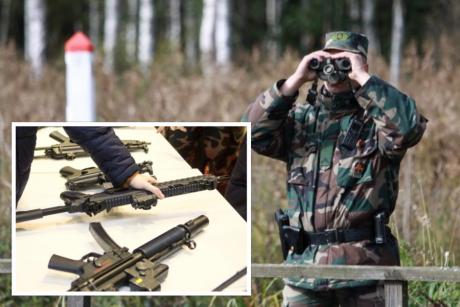 Prakalbo apie didesnį kariuomenės indėlį pasienyje: kada būtų leista panaudoti šaunamuosius ginklus?