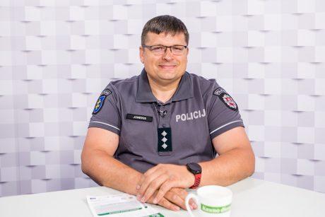 """""""Kauno dienos"""" studija: miesto bendruomenės pareigūnas D. Joneikis – apie konkursą """"Saugus kiemas"""""""