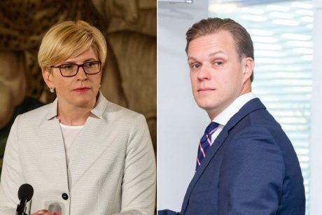 G. Landsbergis kviečia I. Šimonytę vesti konservatorių sąrašą Seimo rinkimuose