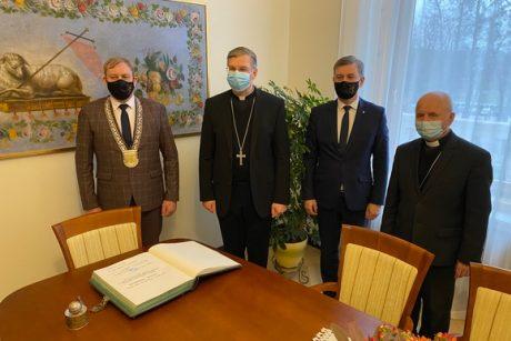 Žemaičiai pagerbė arkivyskupą