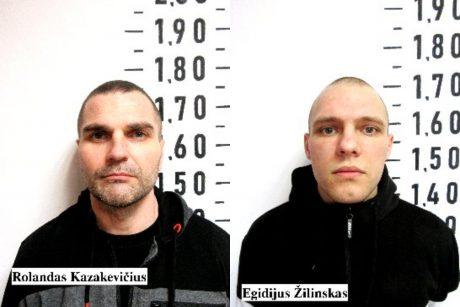 Gausios pareigūnų pajėgos ir sraigtasparnis ieško iš Pravieniškių pabėgusių kalinių