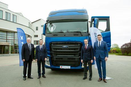 """Autokurtas"" tampa oficialiu ""Ford trucks"" atstovu Lietuvoje"