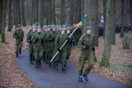 Vingio parke vyks bėgimas mirusiems kariams atminti