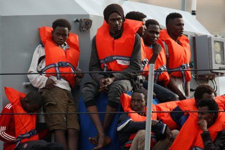 Malta išgelbėjo daugiau kaip 200 migrantų