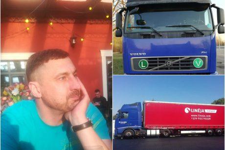 Alytaus policija ieško užsienyje dingusio krovininio automobilio ir jo vairuotojo