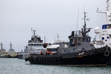 JT tribunolas: Rusija privalo grąžinti pagrobtus Ukrainos jūreivius