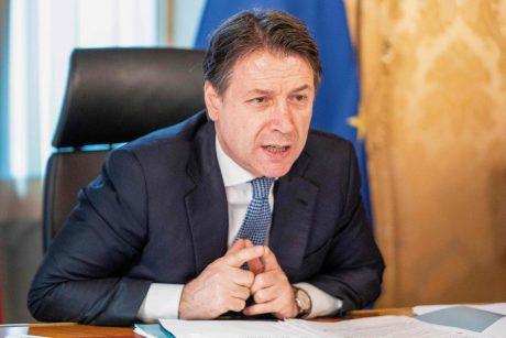 Italijos vyriausybė ketina pratęsti dėl koronaviruso įvestą nepaprastąją padėtį