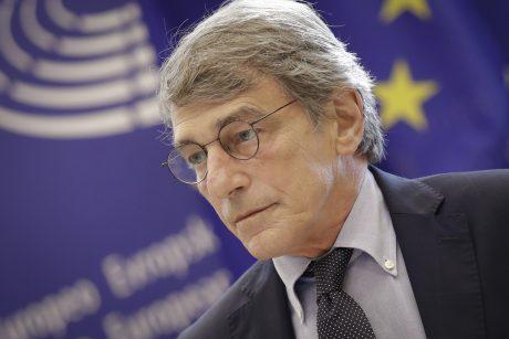 Europos Parlamento pirmininkas išvyko iš ligoninės