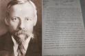Rastas V. Mickevičiaus-Kapsuko laiškas atskleidžia Rusijos tikslus Lietuvoje