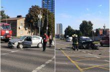 Dar viena avarija Klaipėdoje: sumaitoti du automobiliai <span style=color:red;>(papildyta)</span>