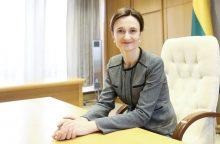 """V. Čmilytė-Nielsen: supratau, kodėl šešėlinės Vyriausybės moterys """"tokios tylios"""" <span style=color:red;>(interviu)</span>"""