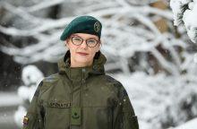Karo psichologė D. Lapėnaitė padeda ne tik kariškiams, bet ir jų vaikams <span style=color:red;>(interviu)</span>