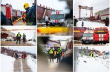 Nelaimė naujo Kauno tilto statybvietėje: vienas darbininkas žuvo, keturi sužaloti <span style=color:red;>(papildyta)</span>